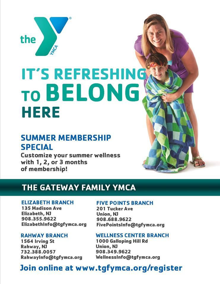 ymca gateway family membership coupon